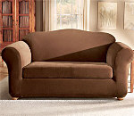 SureFit Stretch Pique Separate Seat Sofa Slipcover