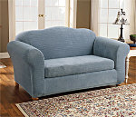 Stretch Royal Diamond One Piece T-Cushion Slipcover