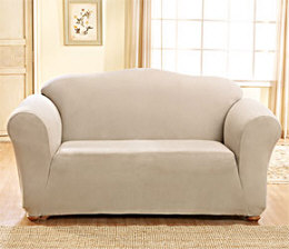 Sure Fit Stretch Suede Slipcover